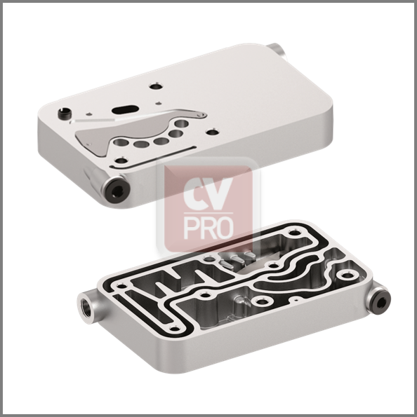 Valve Plate Mercedes Benz 0011305219-H3; 0011301215-H3; 0011302615-H3 Wabco 4123529222-H3 Air Brake Compressor Valve Plate