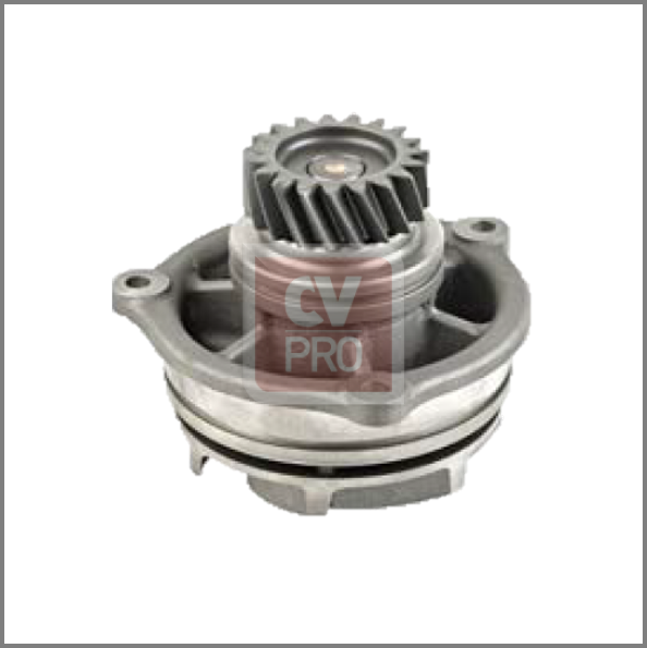 NG200-0001 Water Pump (drive gear 19 teeth) Replaces Iveco500350785; 99445447; 98479675; 93190285; 98447661 water pump with o-ring CV-PRO
