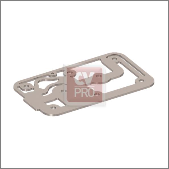 Cooling Plate Mercedes Benz 0011305219-H4; 0011301215-H4; 0011302615-H4 Wabco 4123529222-H4 Air Brake Compressor Cooling Plate