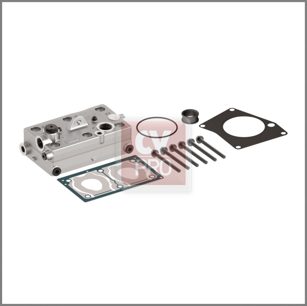 Cylinder Head Wabco 9125109202 Replaces Mercedes Benz0011305915Replaces Wabco9125109202 Air Brake Compressor Complete Assembled Cylinder Head