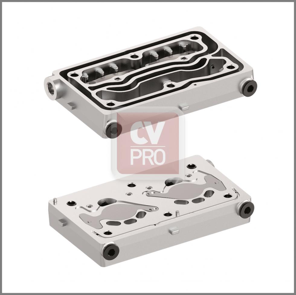 Valve Plate Wabco 9125109202-H3 Replaces Mercedes Benz 0011305915-H3 Replaces Wabco 9125109202-H3 Air Brake Compressor Valve Plate CV-PRO Parts