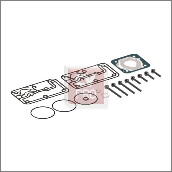 Gasket Kit Wabco 4123529222 Mercedes Benz 0011302615 Wabco 4123529222; 4123529232 Air Brake Compressor Gasket Kit CV-PRO Parts