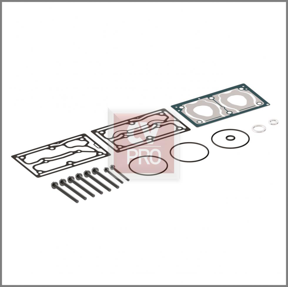 Gasket Kit Wabco 9125109212 Air Brake Compressor Gasket KitReplaces Wabco 9125109212 CAS006-0065 Air Brake Compressor Gasket Kit CV-PRO Parts